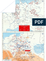 Mapas World War II - Early German Offensives