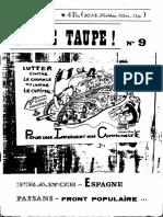 Jeune Taupe Mars 1976