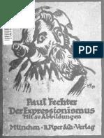 Paul Fechter, Der Expressionismus