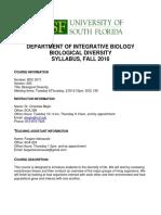 BSC 2011 Syllabus