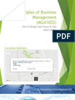 Principles of Business Management Presentaton