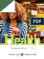 [Paul Insel, Walton Roth] Connect Core Concepts in Health 13th Brief Edition