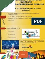 Impacto de Las TIC en Mi Entorno