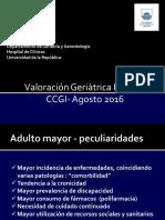 Valoración Geriátrica Integral - 2016