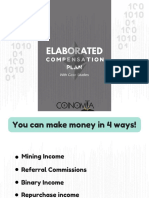 Coinomia Review of Elaborated Compensation Plan