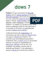 Windows 7 Es Una Versión Anterior de Microsoft Windows