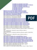 Codigos OBDII en Español