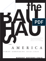 Bauhaus and America - First Contacts, 1919-1936