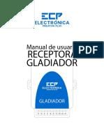 Manual Usuario Receptora Gladiador