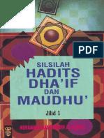 Silsilah Hadits Dhaif Dan Maudhu LENGKAP -Nashiruddin Al-Albani