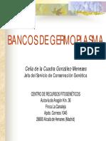 Bancos de Germoplasma