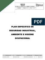 Plan Especifico de Seguridad Industrial