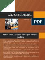 Obrero Sufrió Accidente Laboral Por Descarga Eléctrica En