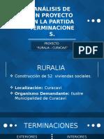 ANÁLISIS DE UN PROYECTO EN LA PARTIDA TERMINACIONES.pptx