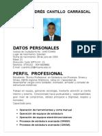 Camilo Andres Cantillo Carrascal