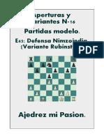 E45 - 16 Defensa Nimzoindia (Variante Rubinstein).pdf