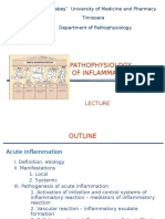 Pathophysiology of Inflammation