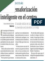 27-09-16 Alistan semaforización inteligente en el centro