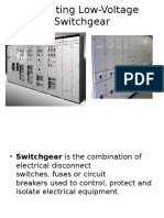 Operating Low-Voltage Switchgear 2