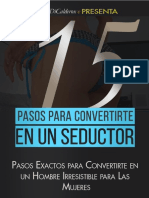 15 Pasos Para Convertirse en Seductor