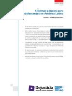 Villadiego, Carolina - Sistemas Penales Para Adolescentes en América Latina