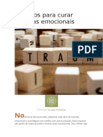 5 Passos Para Curar Traumas Emocionais