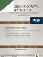 Diccionario Maya, Inca y Azteca