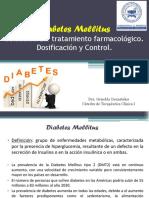 Diabetes Tto. Dosificacion y Control.
