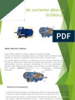 Motores de Corriente Alterna Trifásico