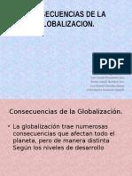 Consecuencias de La Globalizacion