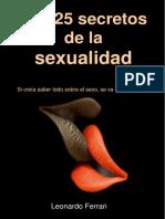 25 Secretos de La Sexualidad