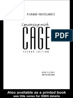 Cage John Conversations Part 45