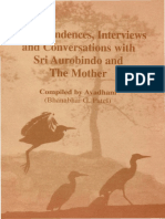 Correspondences Interviews and Conversations With Sri Aurobindo and the Mother
