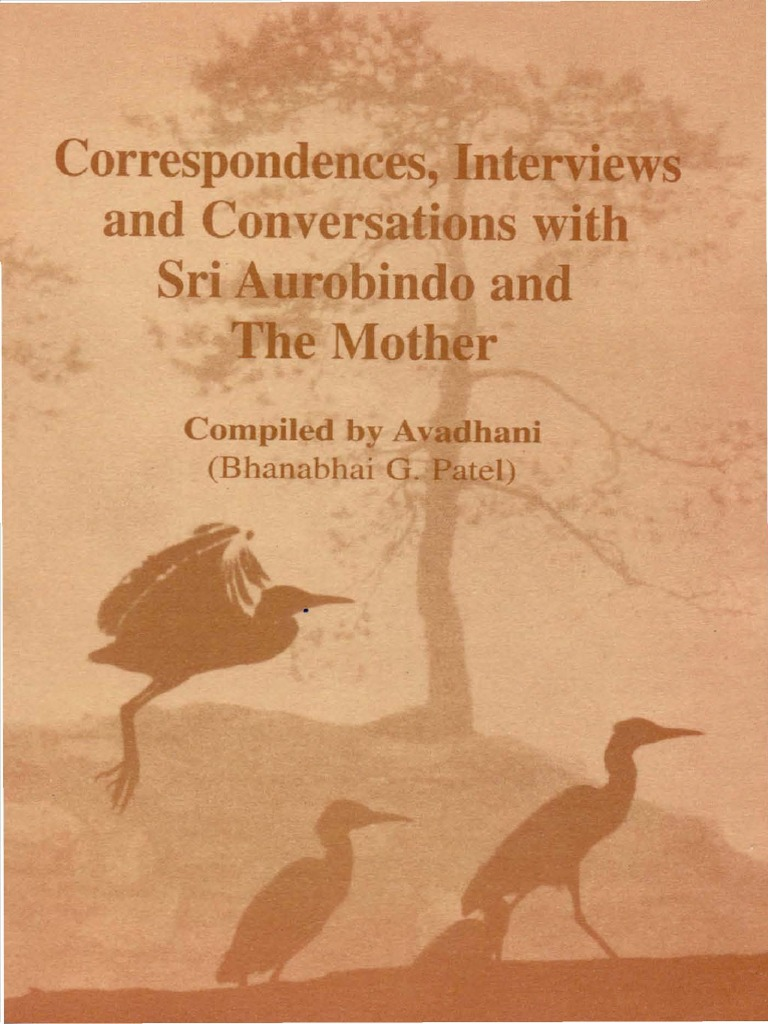 Correspondences Interviews and Conversations With Sri