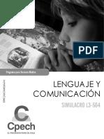 Simulacro L3-564 2012