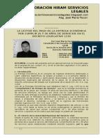 25 y 30 Años de Servicios en El Decreto Legislativo 1153 - Autor José María Pacori Cari