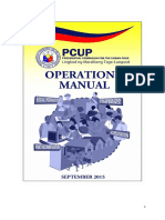 Proposed PCUP Manual