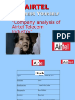 management information system of airtel