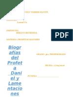 Biografia de Daniel