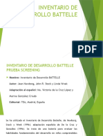 Inventario de Desarrollo Battelle Expo