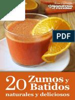 20 Zumos y Batidos Naturales y - Eva Cornejo Coba