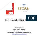 Best Housekeeping Practices