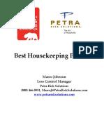 Best Housekeeping Practices
