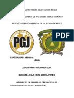 Fisiopatología de Falla Orgánica Múltiple