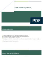 Catalizadores en Petroquímica