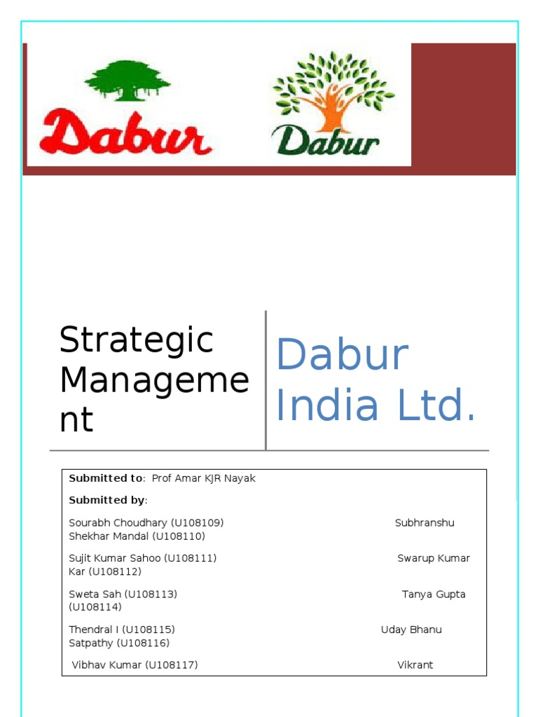 dabur supply chain management He spoke at length on exide industries, dabur, pidilite industries, hcl  are their  own and not that of the website or its management  centrum expects supply  chain finance business to grow eight-fold after l&t deal.