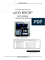 Eco Rich Ehu Series Instruction Manual Ehu25