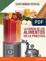 La Ciencia de Los Alimentos en La Practica