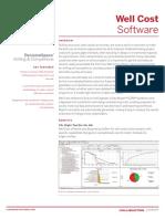 WellCost Data Sheet A4