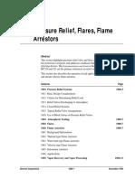 Pressure Relief, Flares, Flame Arrestors.pdf